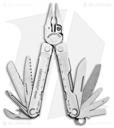 Leatherman Rebar Silver Multi-Tool w/ Nylon Sheath (17-in-1) 831548