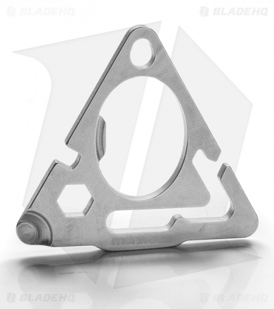 Munkees Stainless Steel Triangle Multi-Tool 2505