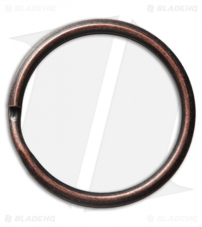 UMX Stainless Steel Split Ring - 30mm / Copper