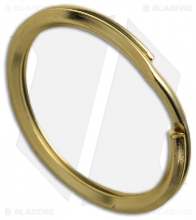 UMX Stainless Steel Split Ring - 30mm / Gold