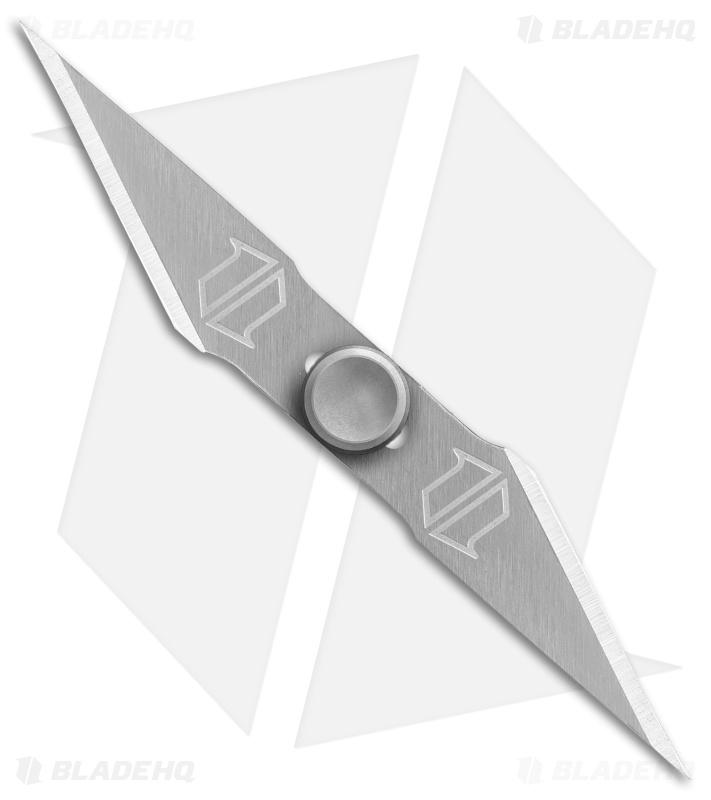 Exacto Shredder Fidget Spinner Brushed Satin Blade Hq