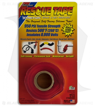 Original Self-Fusing Silicone Rescue Tape (Red)