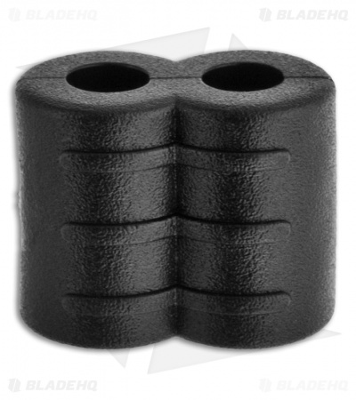 A&P Black Rubber Divider Slider (Two Holes)