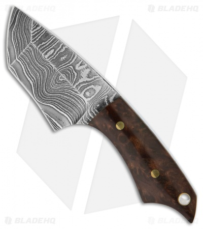 "Barrett Custom Knives Shop Goblin Necker Fixed Blade Knife (2"" Plain)"