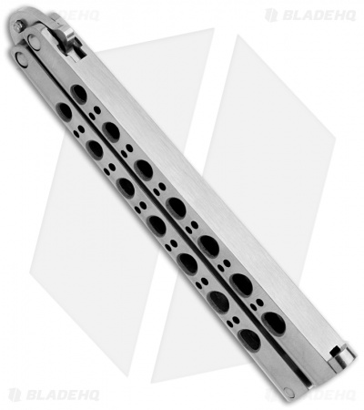 Benchmade 42 Balisong Knife Titanium Butterfly Knife T-Latch (Plain) BM42