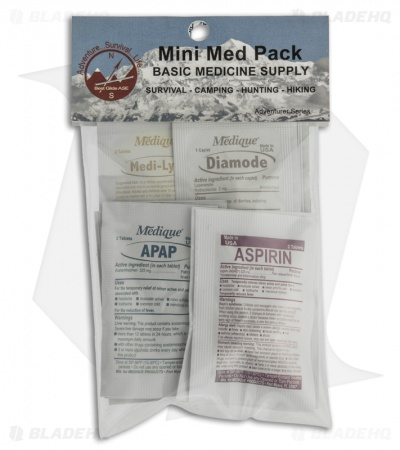 Best Glide ASE Adventurer Mini Med Pack MP1324