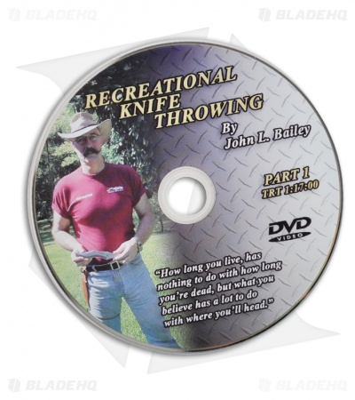 John Bailey Recreational Knife Throwing: Basic Techniques Instructional DVD 1