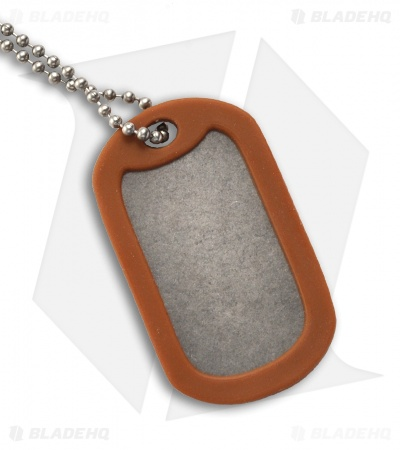 The Original Dog Tag Knife - Titanium (Green)