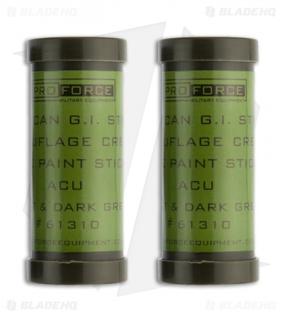 Camcon Camouflage Face Paint Urban (2 Pack) 61312