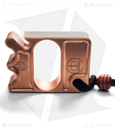 DB Customs Pop-A-Lump Double Knuck Bottle Opener EDC Keychain Copper
