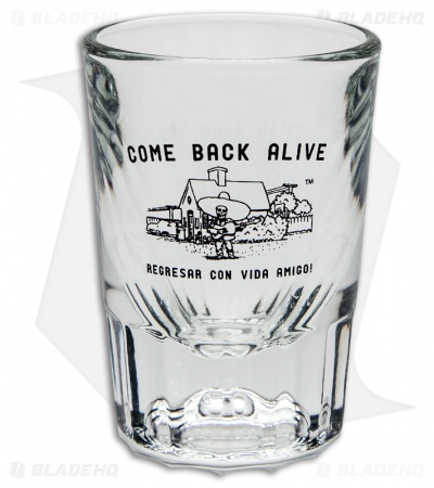DPx Come Back Alive Shot Glass (2 oz)