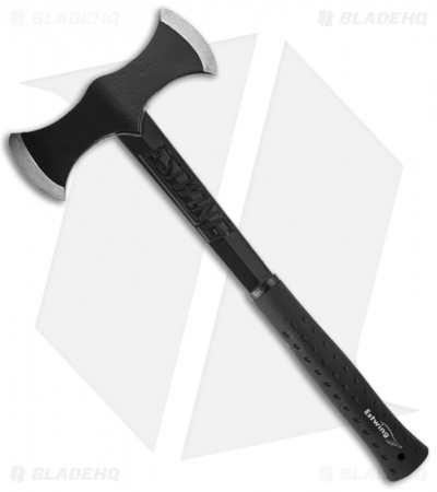 Estwing Black Eagle Double Bit Axe w/ Black Rubberized Handle