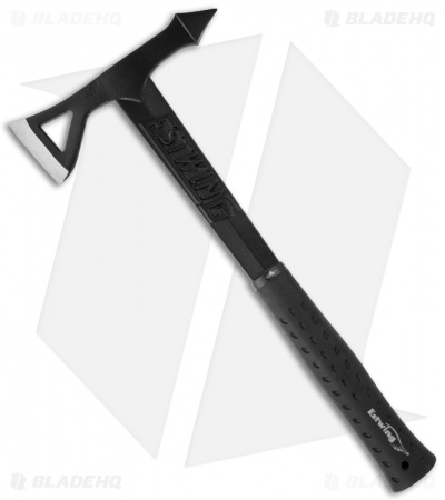 Estwing Black Eagle Tomahawk w/ Black Rubberized Handle