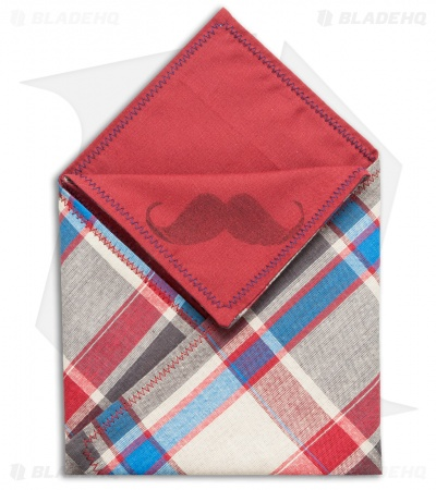 "Hanks by Hank 10"" x 10"" Handkerchief - Plaid P1"