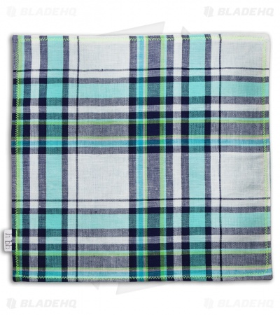 "Hanks by Hank 10"" x 10"" Handkerchief - Plaid P2"