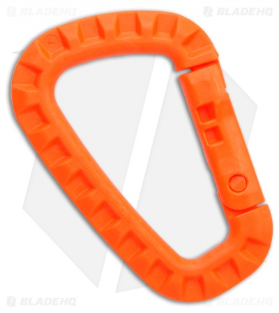 ITW Tac Link Polymer Attachment Device Carabiner (Orange)
