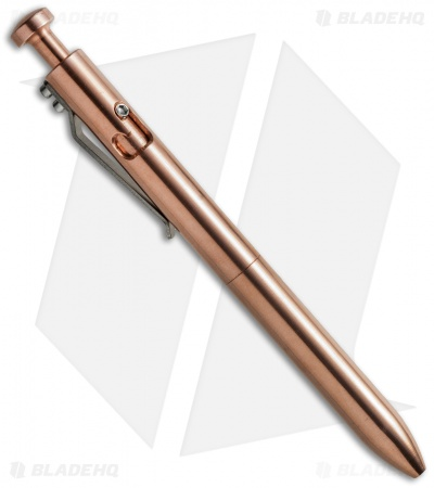 Karas Kustoms The Bolt Pen Bolt-Action Copper