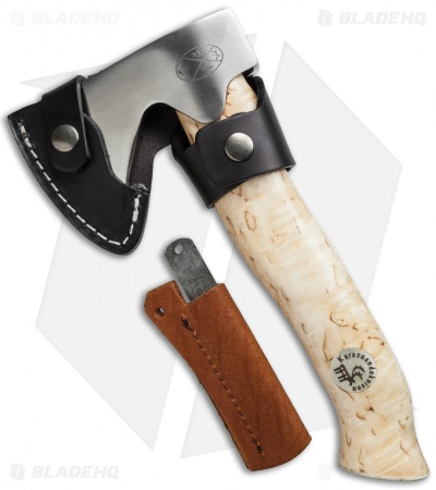 "Karesuando Kniven Unna Aksu Hunting Axe Curly Birch (9"" Satin)"