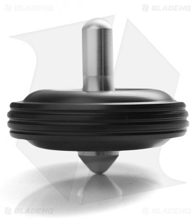 Karas Kustoms Machined Toy Spinning Top Black (Aluminum)