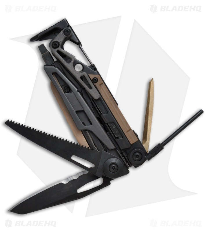 Leatherman Mut Black Utility Multi Tool W Black Handle