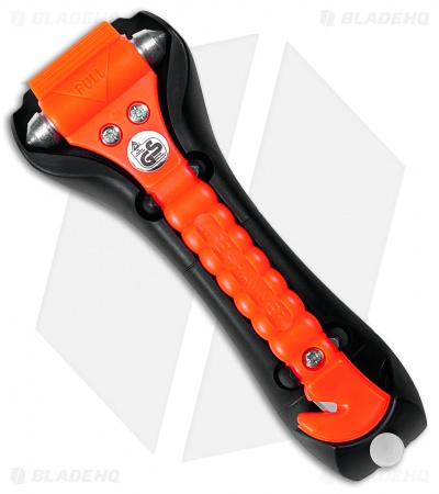 Life Hammer Classic Safety Hammer Car Escape Tool - Orange