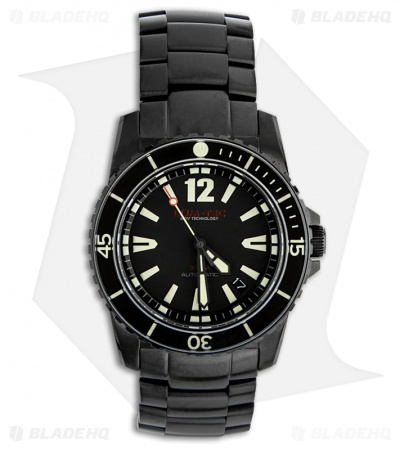 Lum-Tec 300M-2 Diver Watch Stainless Steel Strap