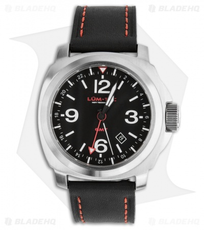 Lum-Tec M60 Luminous Swiss Quartz Men's Watch (Red)