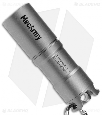 MecArmy IllumineX-1 Matte Titanium Flashlight CREE XP-G2 (130 Lumens)