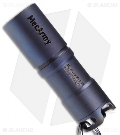 MecArmy IllumineX-1 Blue Titanium Flashlight CREE XP-G2 (130 Lumens)
