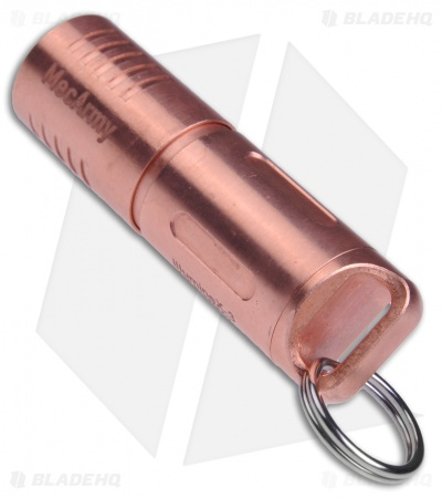 MecArmy IllumineX-3 Copper Flashlight CREE XP-G2 (130 Lumens)