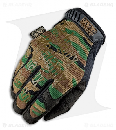 Mechanix Wear The Original Gloves All-Purpose (Woodland Camo)