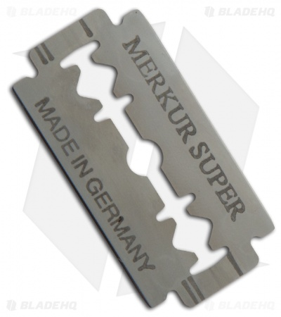 Merkur Solingen Super Platinum Double Edge Razor Blades (10 Pack)