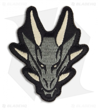 MSM Dragon Head Patch Hook Velcro Back (ACU)