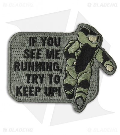 MSM EOD Running Patch Hook Velcro Back (ACU)