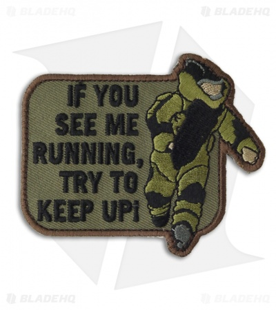 MSM EOD Running Patch Hook Velcro Back (Forest)