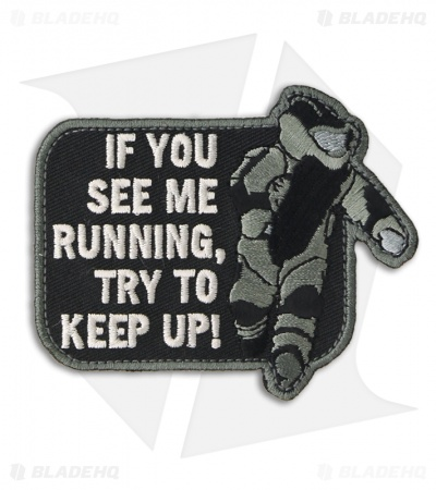 MSM EOD Running Patch Hook Velcro Back (SWAT)