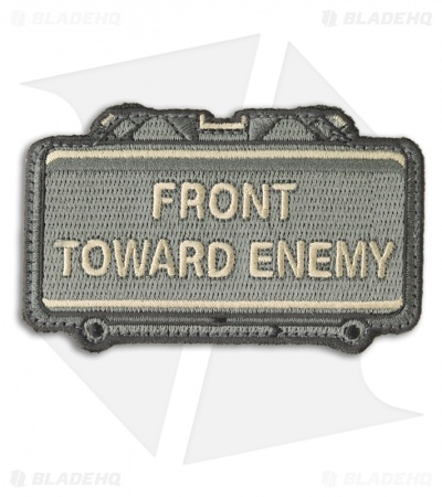 MSM Front Toward Enemy Patch Hook Velcro Back (ACU)