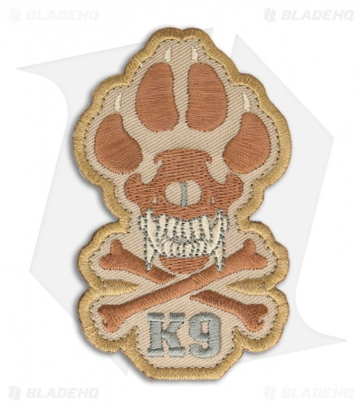 MSM K9 Patch Hook Velcro Back (Desert)