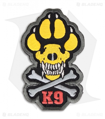 MSM K9 Patch Hook Velcro Back (Full-Color)