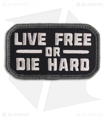 MSM Live Free Patch Hook Velcro Back (SWAT)