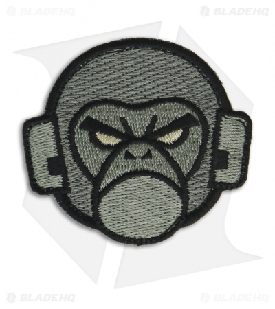MSM Mil Spec Monkey Logo Patch Hook Velcro Back (ACU-Dark)