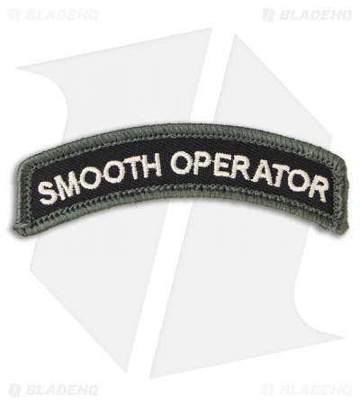 MSM Smooth Operator Hook Velcro Back Patch (SWAT)