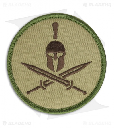 MSM Spartan Helmet Patch Hook Velcro Back (Multi-Cam)