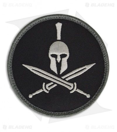MSM Spartan Helmet Patch Hook Velcro Back (SWAT)
