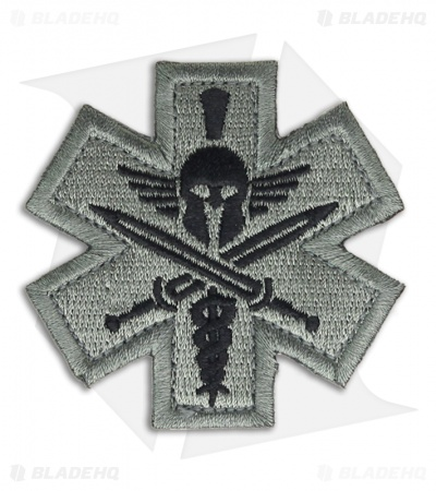 MSM Tactical Medic Spartan Patch Hook Velcro Back (ACU-Dark)