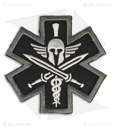 MSM Tactical Medic Spartan Patch Hook Velcro Back (SWAT)