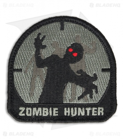 MSM Zombie Hunter Patch Hook Velcro Back (ACU-A)