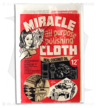 Miracle All Purpose Polishing Cloth w/ Real Coconut Oil