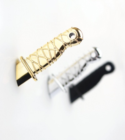 Knife Magnet (Gold)
