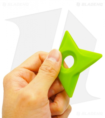 Shuriken Magnet Throwing Star Set (Wasabi Green)